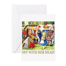 Off With Her Head! Greeting Cards (Pk of 20)