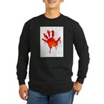 hand_white_bg.png Long Sleeve Dark T-Shirt