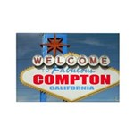 compton.png Rectangle Magnet (100 pack)