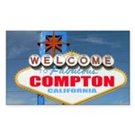 compton.png Sticker (Rectangle 10 pk)