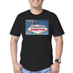 compton.png Men's Fitted T-Shirt (dark)