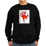 hand_white_bg.png Sweatshirt (dark)