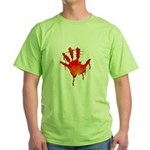 hand_white_bg.png Green T-Shirt