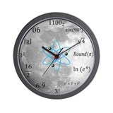 Sheldon Cooper Moon Maths Wall Clock