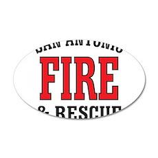 SAF back logo.JPG 38.5 x 24.5 Oval Wall Peel