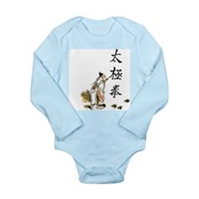 Tai Chi Chuan Long Sleeve Infant Bodysuit