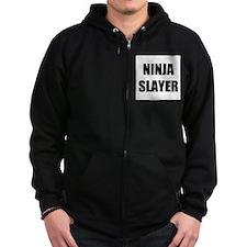 Ninja slayer. Zipped Hoodie