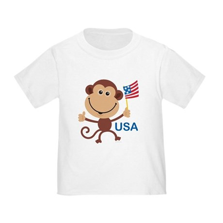 USA Monkey: Toddler T-Shirt
