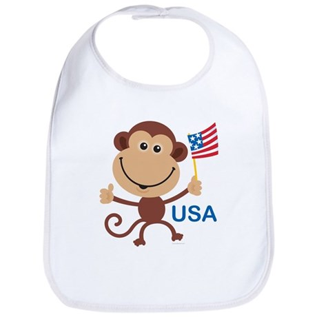 USA Monkey: Bib