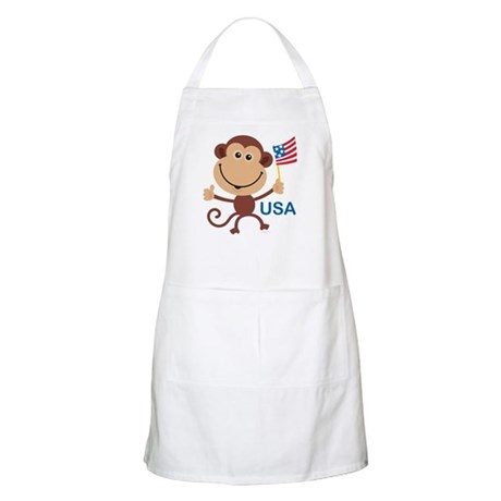 USA Monkey: BBQ Apron