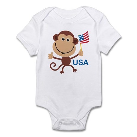 USA Monkey: Infant Creeper