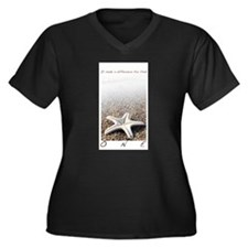 starfish_shirt_front2 Plus Size T-Shirt