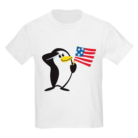 Proud Penguin: Kids T-Shirt