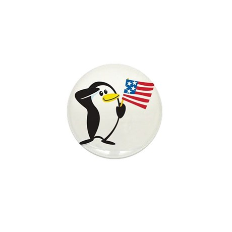Proud Penguin: Mini Button (10 pack)