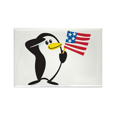 Proud Penguin: Rectangle Magnet (10 pack)