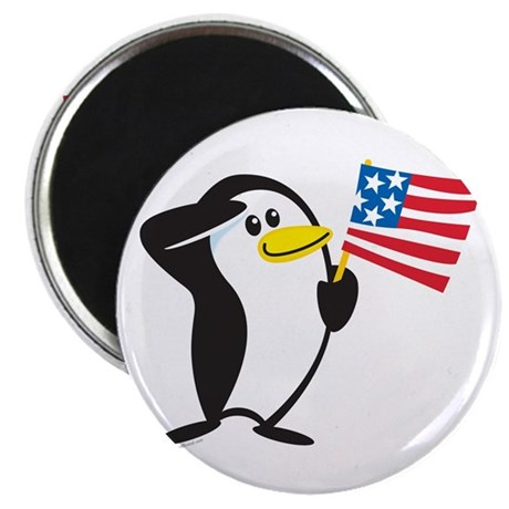 "Proud Penguin: 2.25"" Magnet (10 pack)"