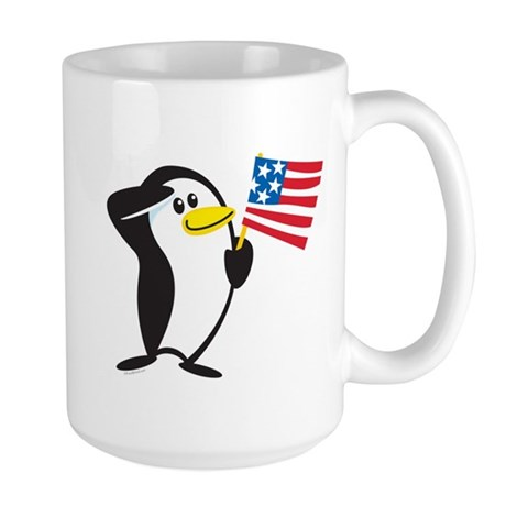Proud Penguin: Large Mug