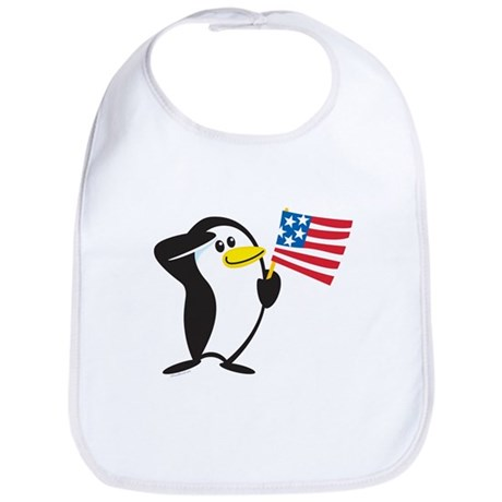 Proud Penguin: Bib