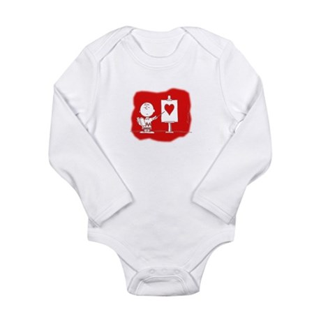 Lessons in Love Long Sleeve Infant Bodysuit