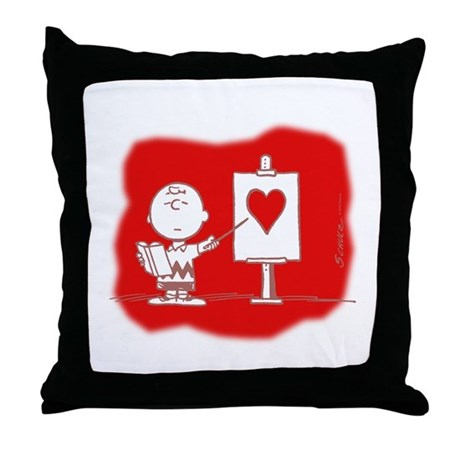 Lessons in Love Throw Pillow