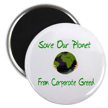 "Save Our Planet 2.25"" Magnet (100 pack)"