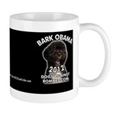 Dogs Against Romney &amp;quot;Bark Obama&amp;quot; Tasse