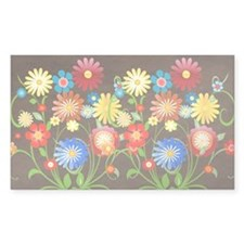 flower design Bumper Stickers