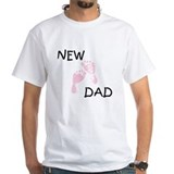 New Dad PINK  Shirt
