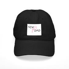 New Dad PINK Baseball Hat