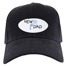 New Dad BLUE Baseball Hat