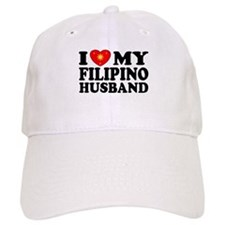 I Love my Filipino Husband Baseball Cap