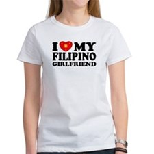 I Love my Filipino Girlfriend Tee