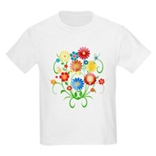 Floral bright pattern T-Shirt