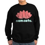 Namaste Lotus Sweatshirt (dark)