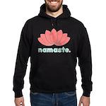 Namaste Lotus Hoodie (dark)