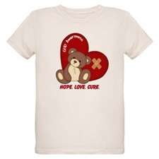 Hope. Love. Cure. for CHD Awareness T-Shirt