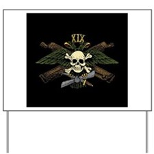 Fighter Sqdn Skull Eagle white.png Yard Sign