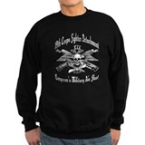 Fighter Sqdn Skull Eagle white.png Jumper Sweater
