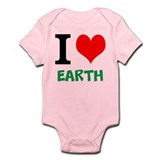 I love Earth Infant Bodysuit