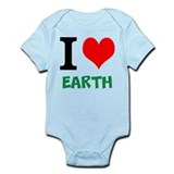 I love Earth Onesie