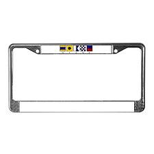 Nautical Diane License Plate Frame