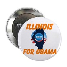 "Illinois for Obama 2.25"" Button (10 pack)"