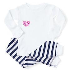 4-obamawork.png Long Sleeve Infant Bodysuit