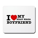Krav Maga designs Mousepad