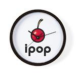 ipop cherry Wall Clock