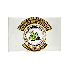 US Navy - Emblem - UDT - Sammy - Freddie Rectangle