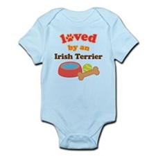 Irish Terrier Dog Gift Infant Bodysuit