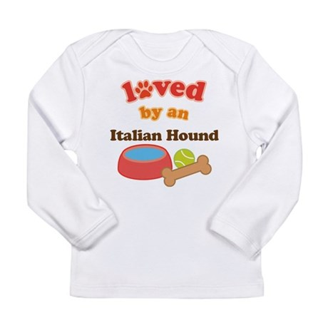Italian Hound Dog Gift Long Sleeve Infant T-Shirt