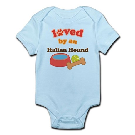 Italian Hound Dog Gift Infant Bodysuit