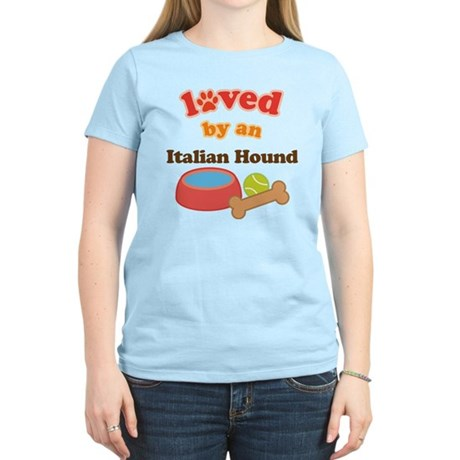 Italian Hound Dog Gift Women's Light T-Shirt